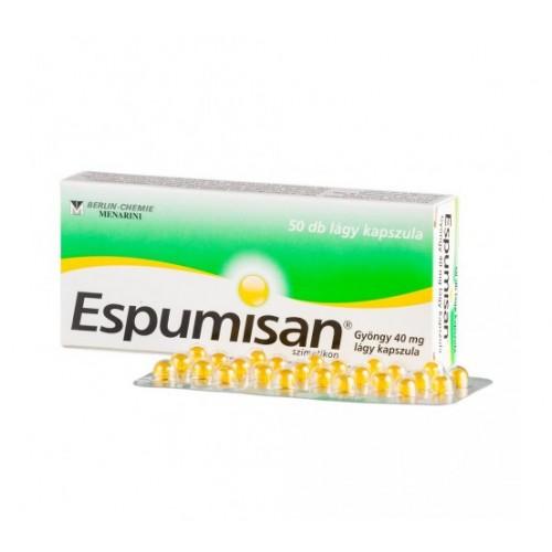 Espumisan Gyöngy 40 mg lágy kapszula 50x