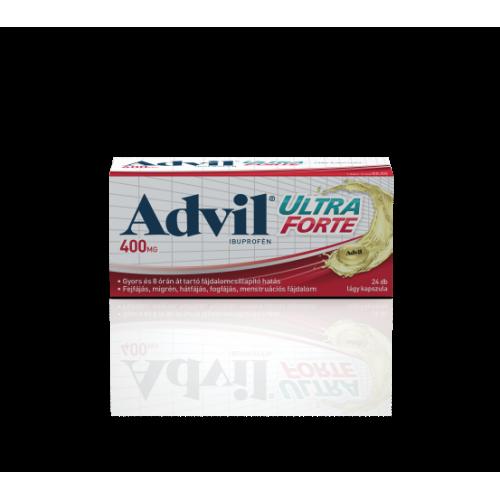 Advil Ultra Forte lágyzselatin kapszula 24x