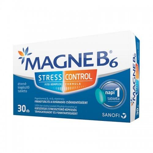Magne B6 Stress Control étrend-kiegészítő tabletta 30x