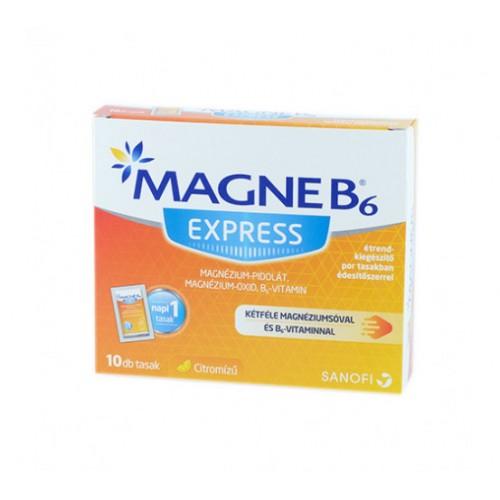 Magne B6 Express étrend-kiegészítő por tasakban édesítőszerrel 10x
