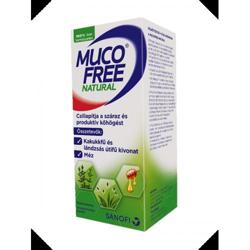 Mucofree Natural Szirup 128G 94ml